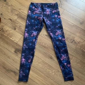 Rose Galaxy Leggings